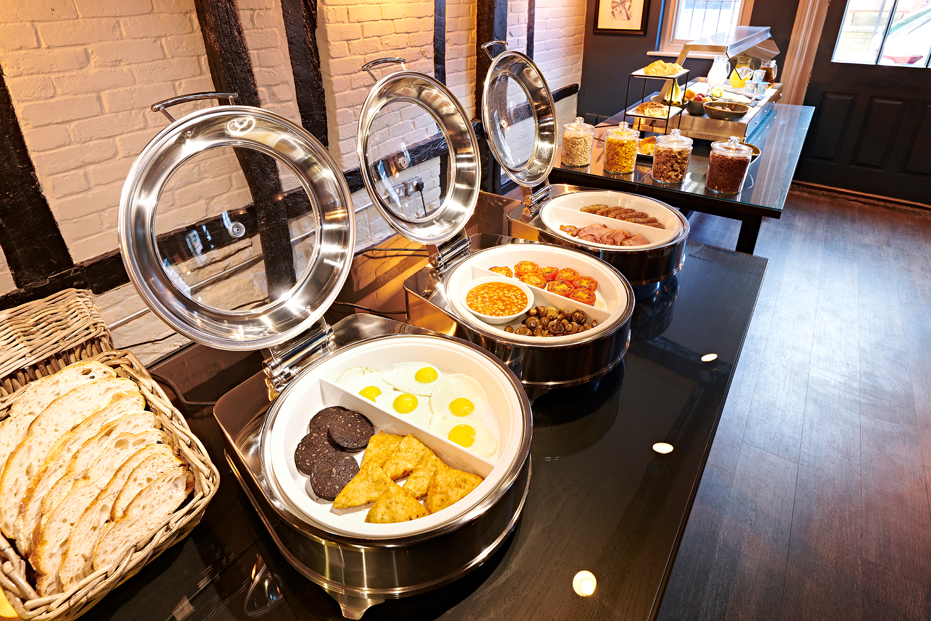 The Merchant's House Hotel Breakfast